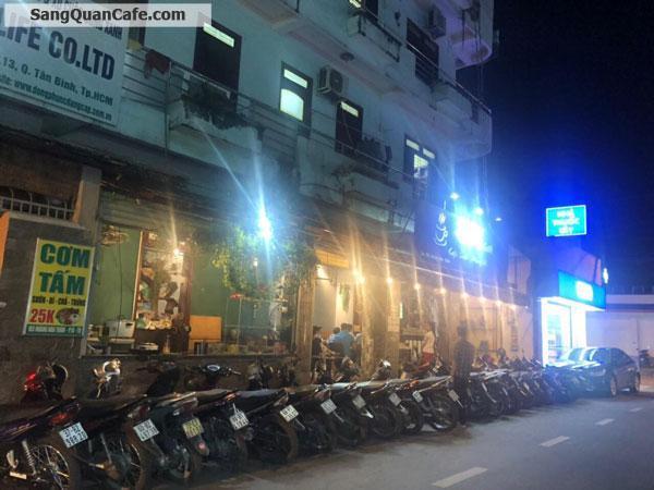 Sang Cafe mặt tiền Hoàng Hoa Thám Vị trí đẹp