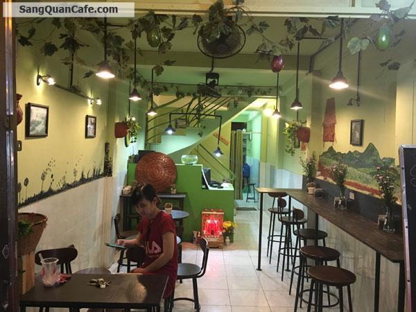 Sang quán Cafe 1 trệt, 3 Lầu quận 1