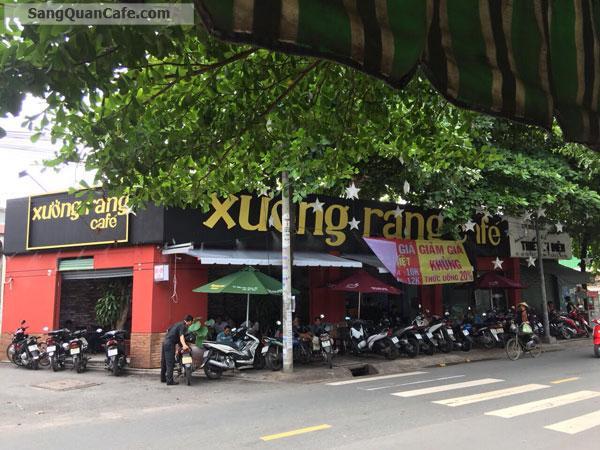 Sang Cafe Rất Đông Khách 2 mặt tiền Đường lớn