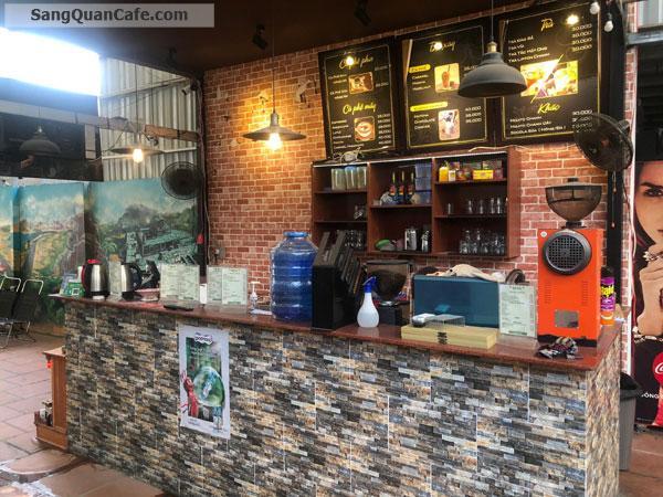 Sang Cafe Sân Vườn Máy Lạnh ( 10m x 30m )