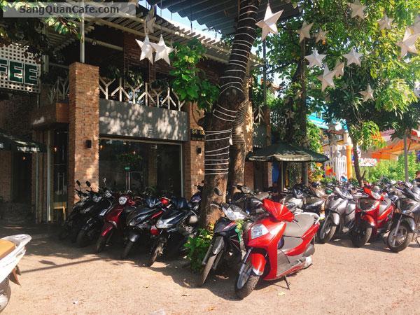 Sang Cafe Sân Vườn nhượng quyền Viva Star Góc 2 Mặt tiền