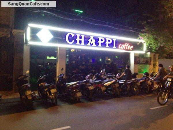 Sang Cafe Sân Vườn rộng 250m2 quận Tân Phú