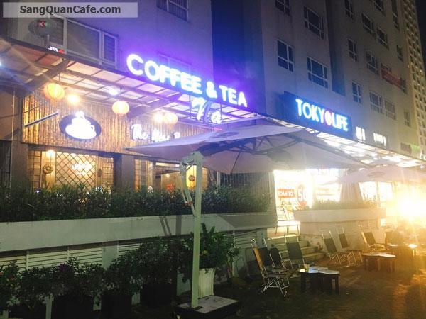 Sang Cafe Shop House mặt bằng Sân rộng