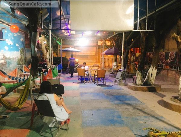 Sang Gấp Cafe Sân Vườn Giá Rẻ Gần Miếu Ông Cù