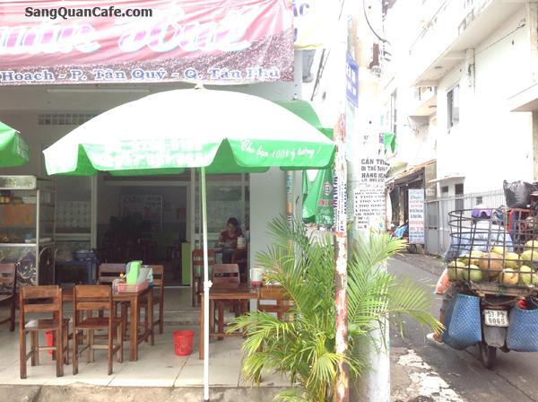 Sang gấp quán cà phê 2 mặt tiền đường Lê Thúc Hoạch