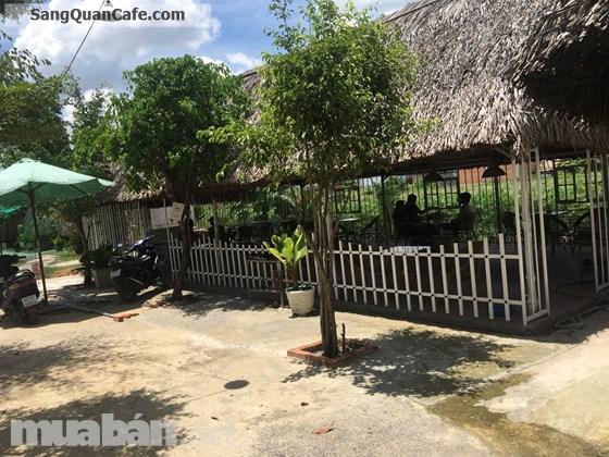 Sang gấp quán cà phê rộng 1000m, sân vườn, bờ sông, chòi võng