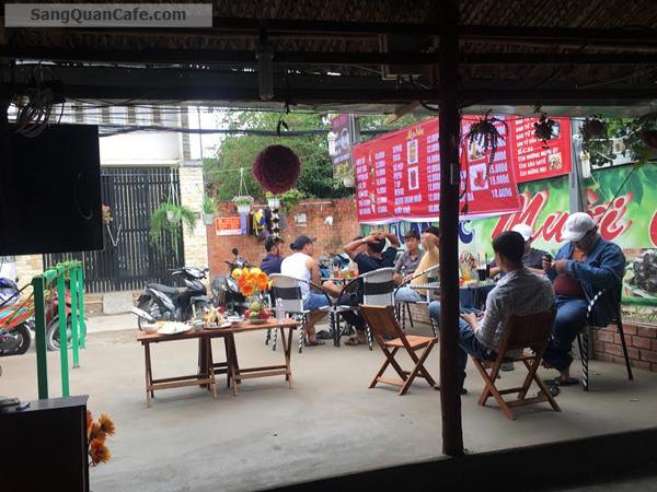 Sang gấp quán cà phê sân vườn mini hẻm xe hơi