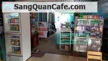 Sang gấp quán Café – Trà sữa, mặt tiền đường Bà Triệu, TT Hóc Môn.