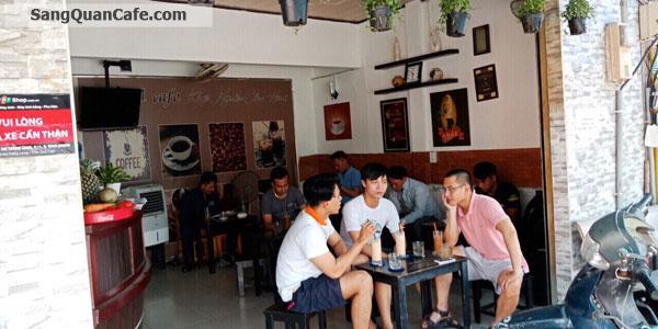 Sang gấp quán cafe 2 mặt tiền Nơ Trang Long