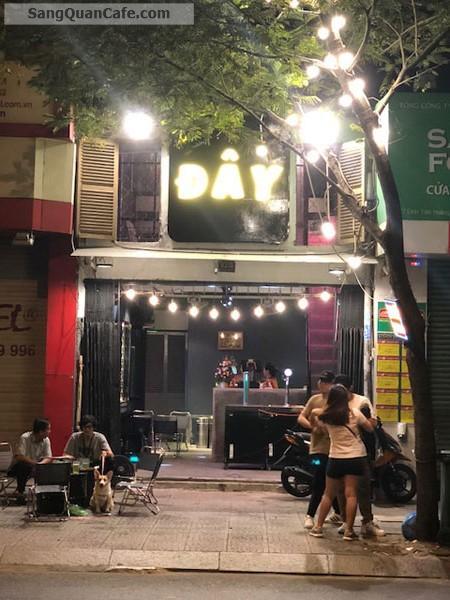 Sang gấp quán cafe - bia tươi mặt tiền đường Đinh tiên Hoàng