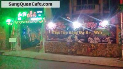 Sang gấp quán cafe bóng đá sân Vườn quận Gò Vấp