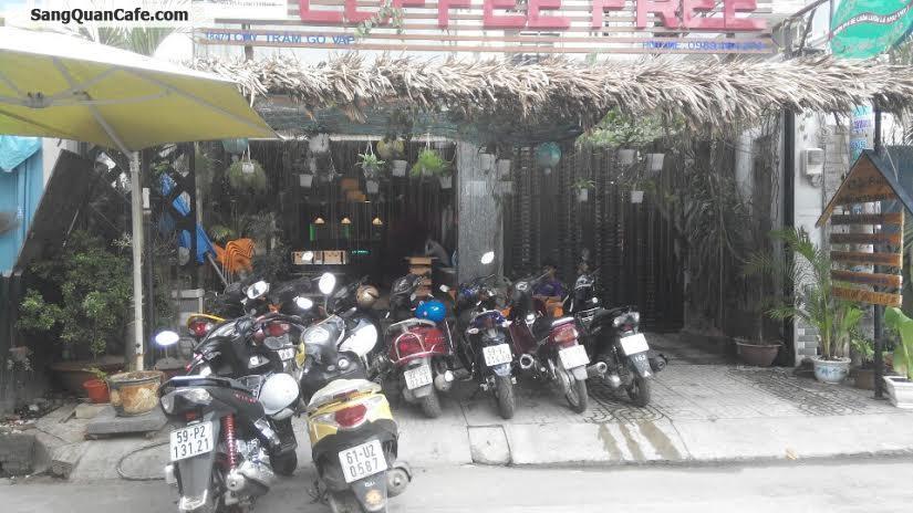 Sang gấp quán Cafe - Cơm Văn Phòng đường Cây Trâm
