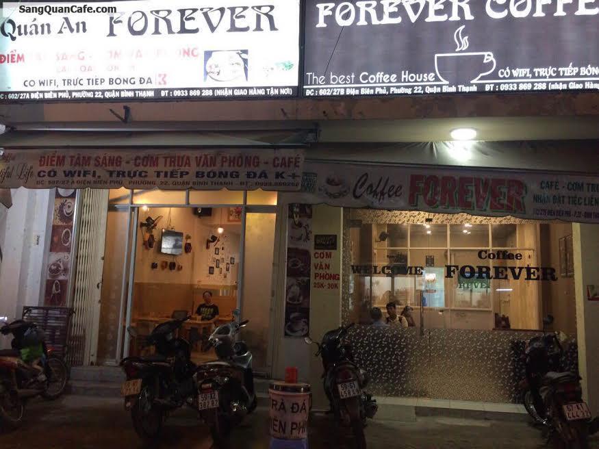 Sang gấp quán cafe cơm văn phòng quận Bình Thạnh