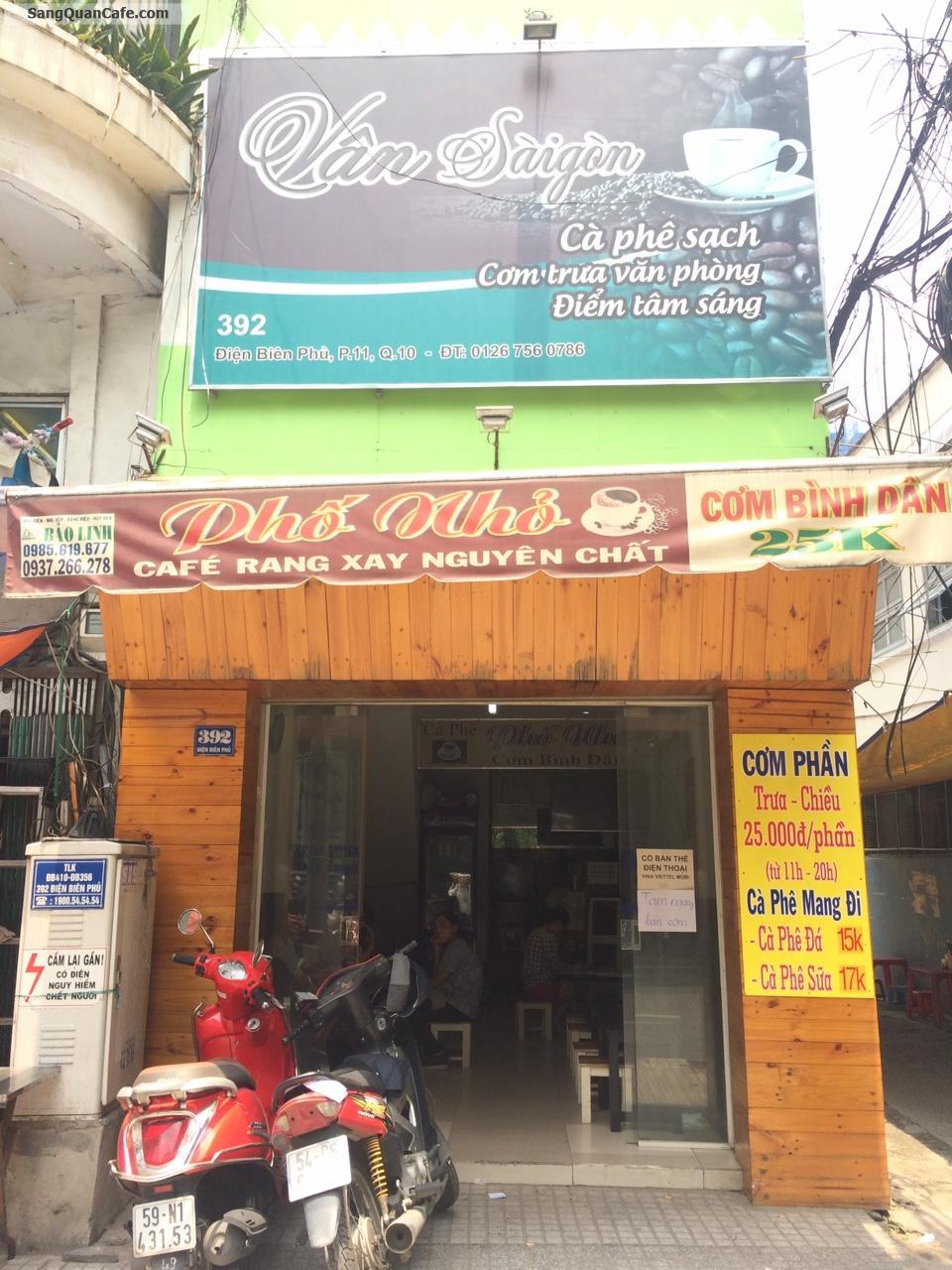 Sang Gấp Quán Cafe Cơm VP Đông Khách quận 10