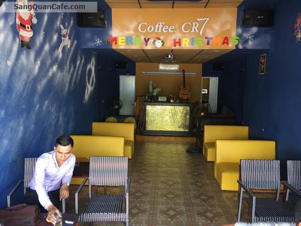 Sang gấp quán cafe CR7 K+ mặt tiền đường trần xuân soạn