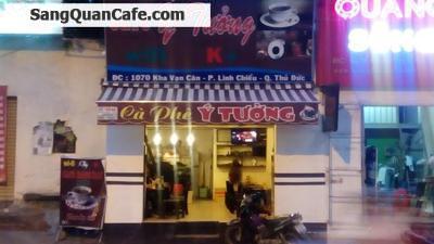 Sang gấp quán cafe đường kha van Cân