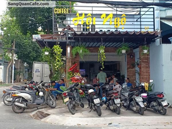 Sang gấp quán Cafe Góc 2 mặt tiền quận Tân phú