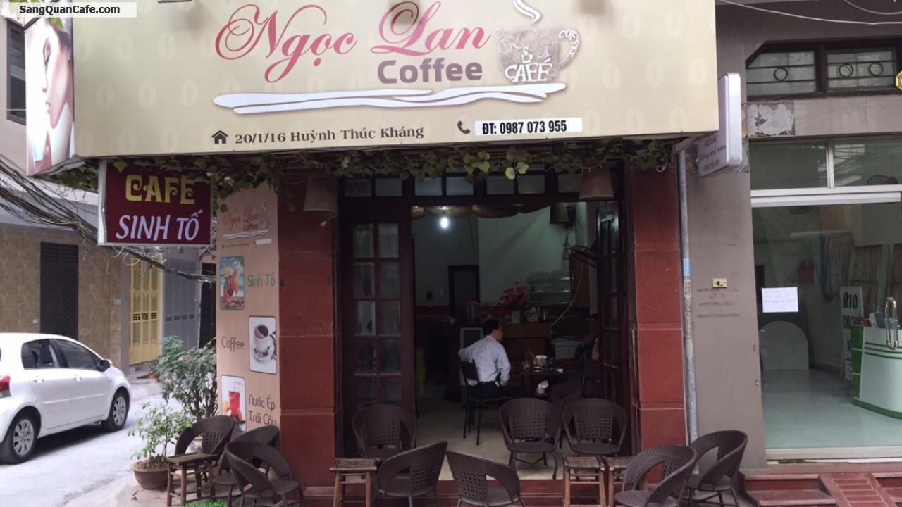 Sang gấp quán cafe góc 2 MT Quận Đống Đa, Hà Nội