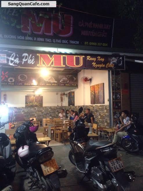 Sang gấp quán cafe mặt tiền đường Hòa Bình