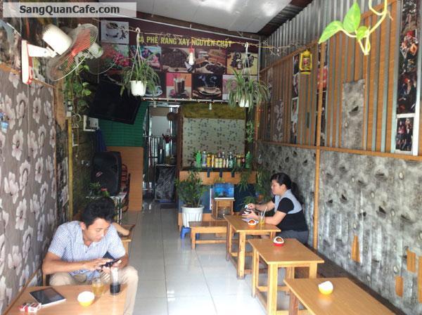 Sang gấp quán cafe mặt tiền Trần Thị Bảy
