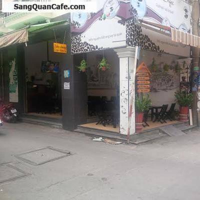 Sang gấp quán Cafe góc 2MT bên hông Trường Nguyễn Thái Bình .