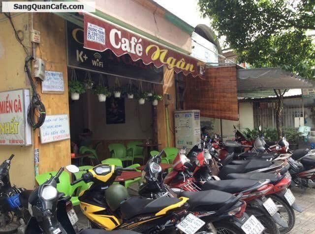 Sang gấp quán Cafe nhà nguyên căn mặt tiền Phan Văn Trị (vỉa hè 4m)