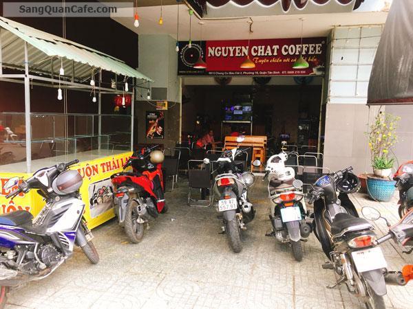 Sang Gấp Quán Cafe Sân Rộng Khu CC Bàu Cát