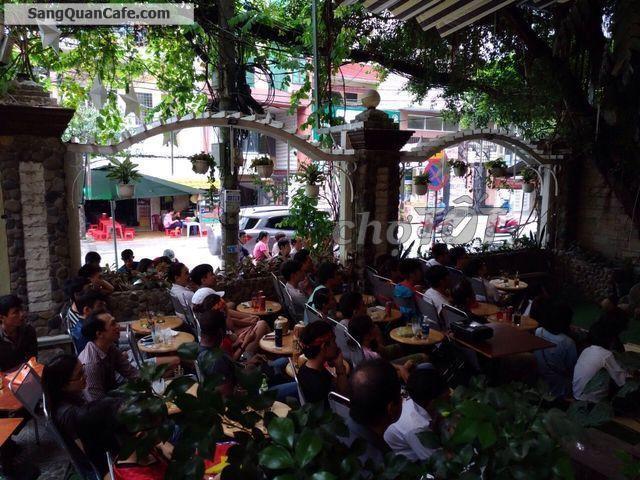 Sang gấp quán cafe sân vườn 2 mặt tiền