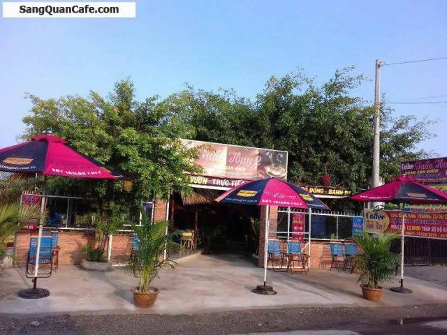 Sang gấp quán cafe sân vườn chòi, võng