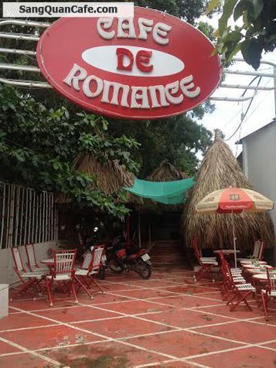 sang gấp quán cafe sân vườn De Romance