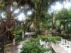 Sang gấp quán cafe sân vườn Huyện Bình Chánh