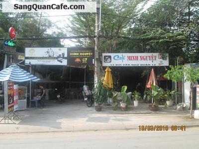 Sang gấp quán cafe sân vườn Minh Nguyệt