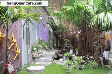 Sang gấp quán cafe sân vườn quận Gò Vấp
