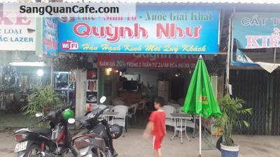 Sang gấp quán cafe - sinh tố Bình Chánh