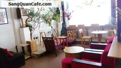 Sang gấp quán cafe thiết kế đẹp tại quận 8