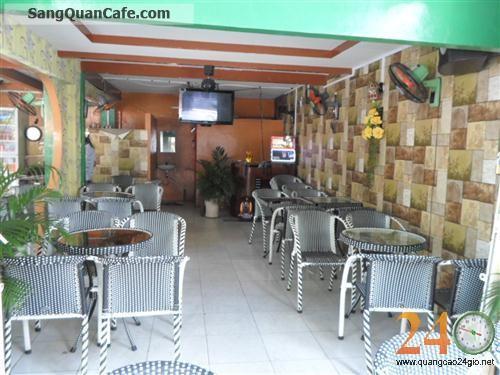 Sang gấp quán Cafe Trung tâm Quận Tân Phú,