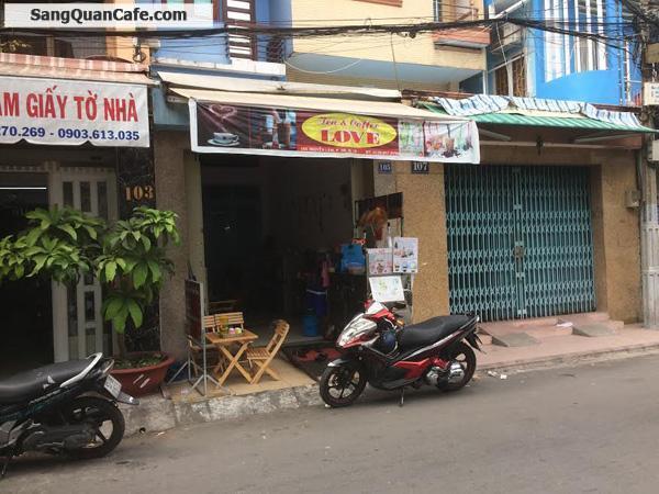 Sang gấp quán caffe trà sữa ngay chợ Nguyễn Tri Phương