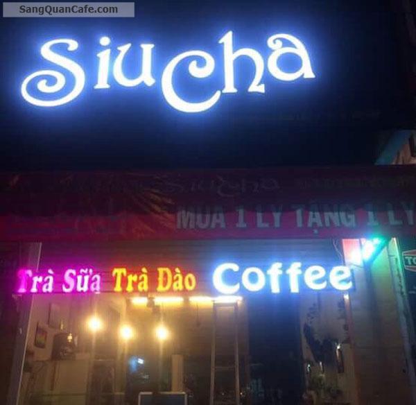 Sang gấp quán coffee góc ngã tư Cây Trâm và Lê Văn Thọ