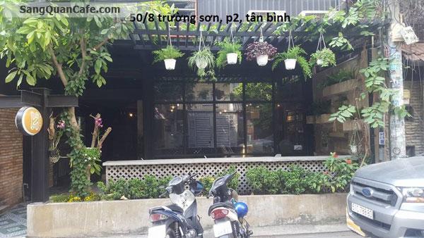 Sang hoặc cho thuê lại quán cafe cơm VP ngay sân bay Tân Sơn Nhất