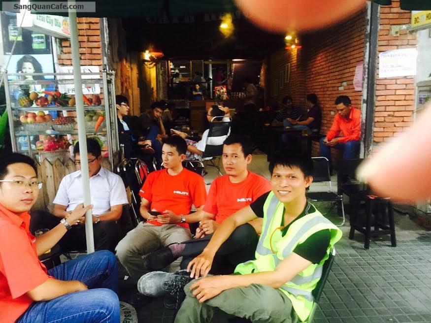 Sang hoặc cho thuê quán cafe cơm văn phòng quận Phú nhuận