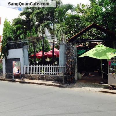 Sang hoặc cho thuê quán Cafe sân Vườn Quận Tân Phú