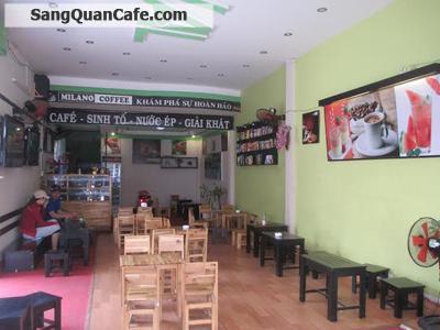 sang lại quán cafe 2 mặt tiền quận Tân Phú