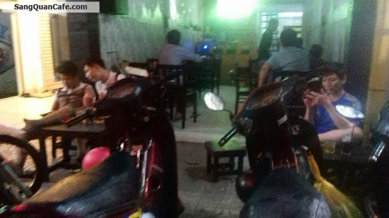Sang lại quán cafe mặt tiền đường Nguyễn Oanh