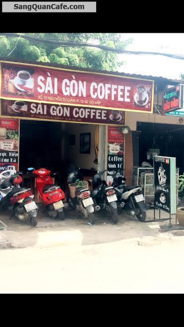 Sang lại quán cafe Quận Gò Vấp