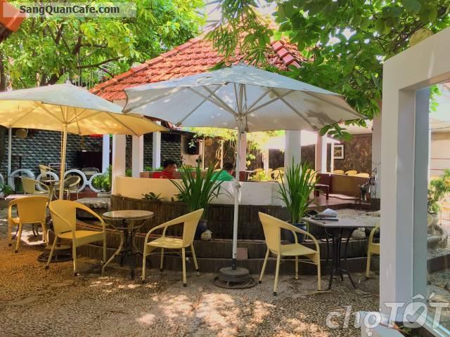 Sang lại quán cafe sân vườn Vuông Tròn Quang Trung
