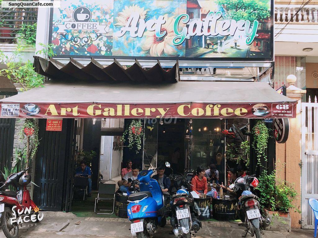 Sang mặt bằng kinh doanh quán cafe 120m2 mặt tiền đường