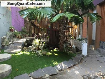 Sang mặt bằng quán cafe sân vườn Quận Gò Vấp