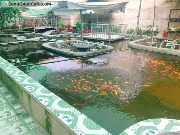 Sang MB Cafe Sân Vườn Cá Koi có phòng lạnh