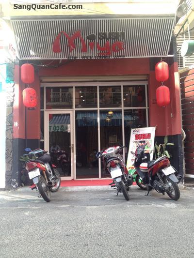 Sang nhà hàng cafe trung tâm quận 1