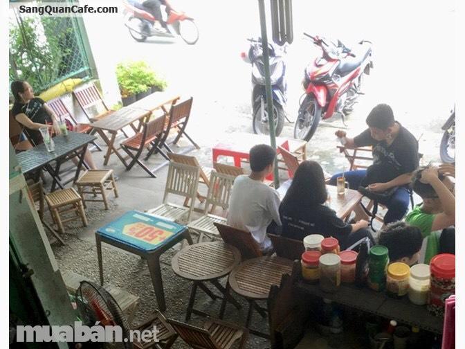 Sang nhanh quán cafe trà sữa đối diện trường học